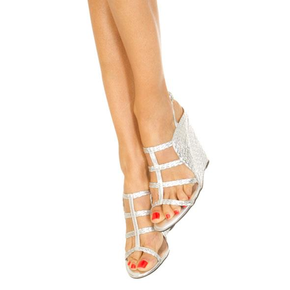 Silver Platted Wedges