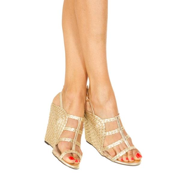 Gold Platted Wedges