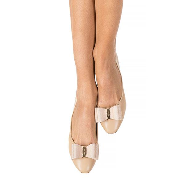 Nude Classic Bow Pumps
