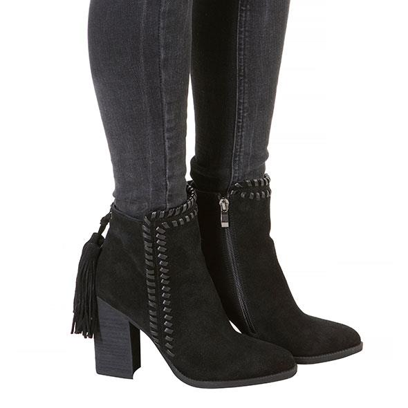Short Black Spanish Boots