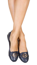 Navy LK Pumps